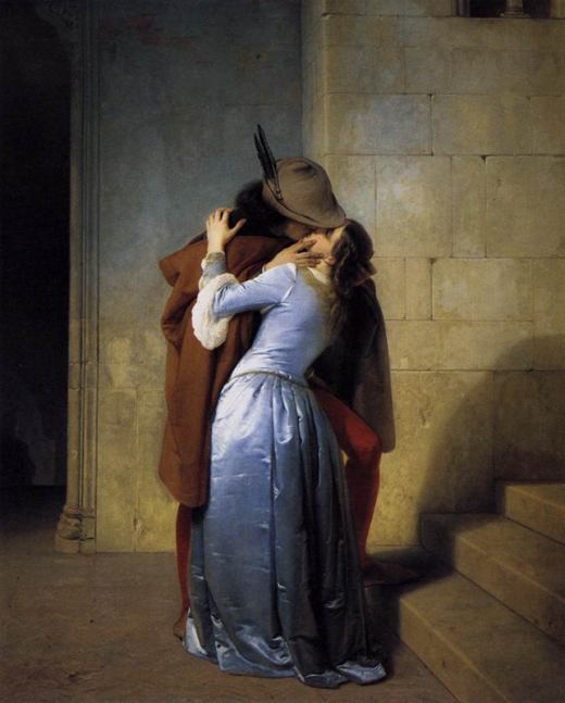 The Kiss van Francesco Paolo Hayez