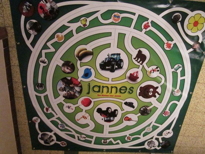 Speelmat voor Jannes