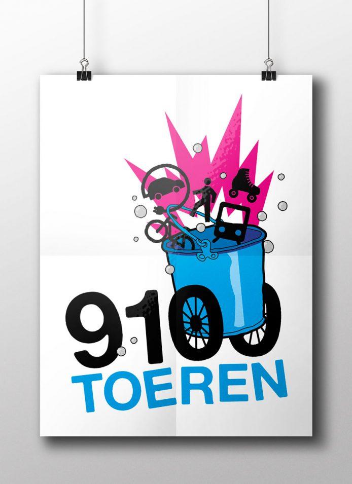 9100 Toeren