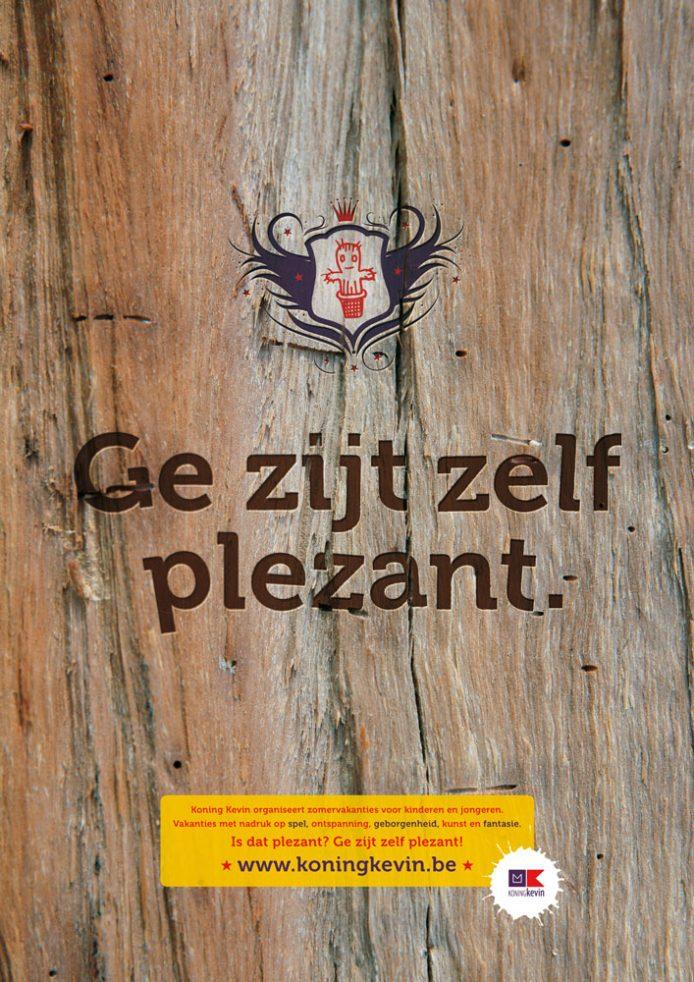 De zomer van Koning Kevin (2012): De vakantiefolder en -poster (3/3)
